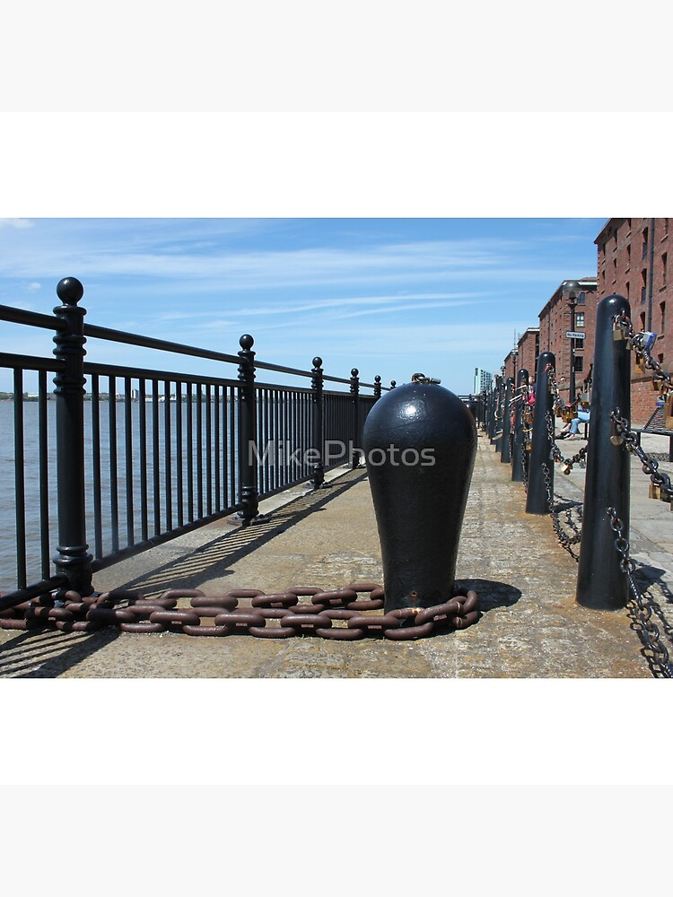 Old Boat Chain Next To The River Mersey, Liverpool, Merseyside by MikePhotos