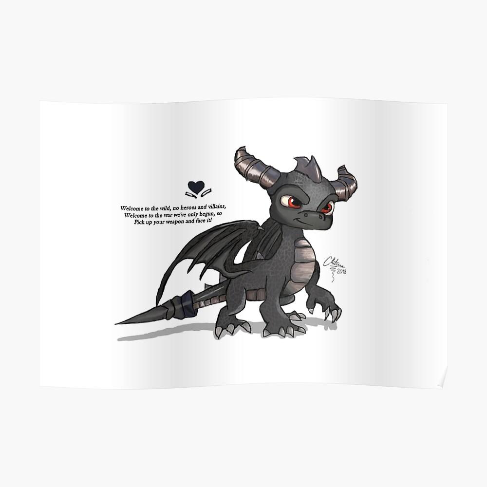 Dunkler Spyro Poster