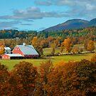 Big Red Barn by John Rivera
