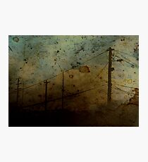 The Skies Grew Darker (It Made Our Hearts Seem Lighter) Photographic Print