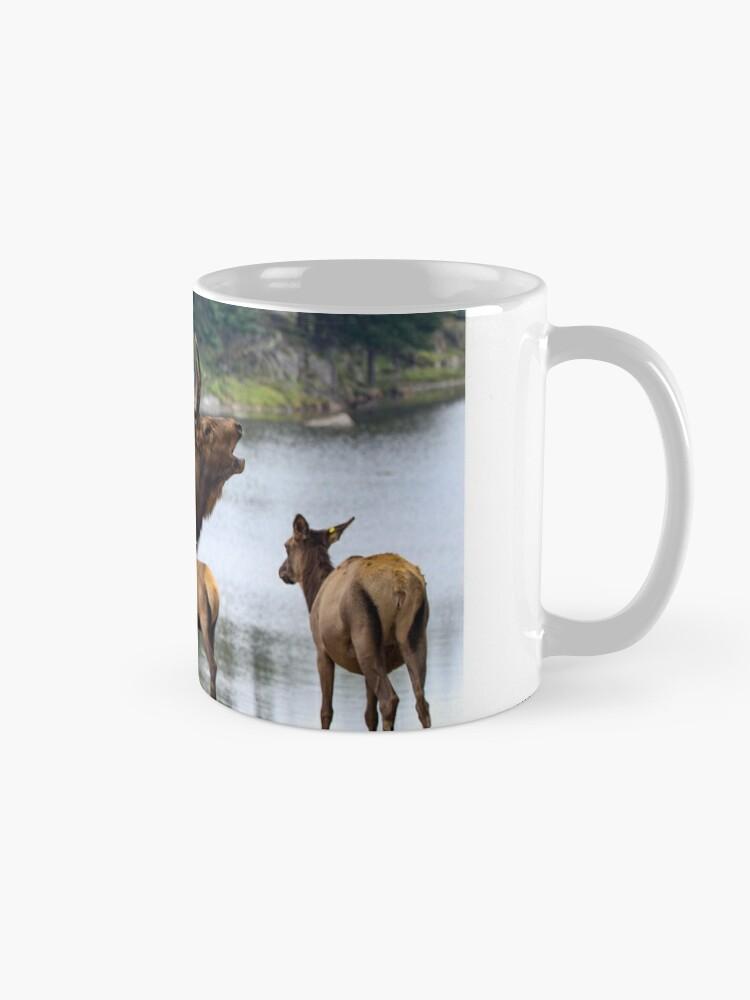 Alternate view of Elk Family Mug