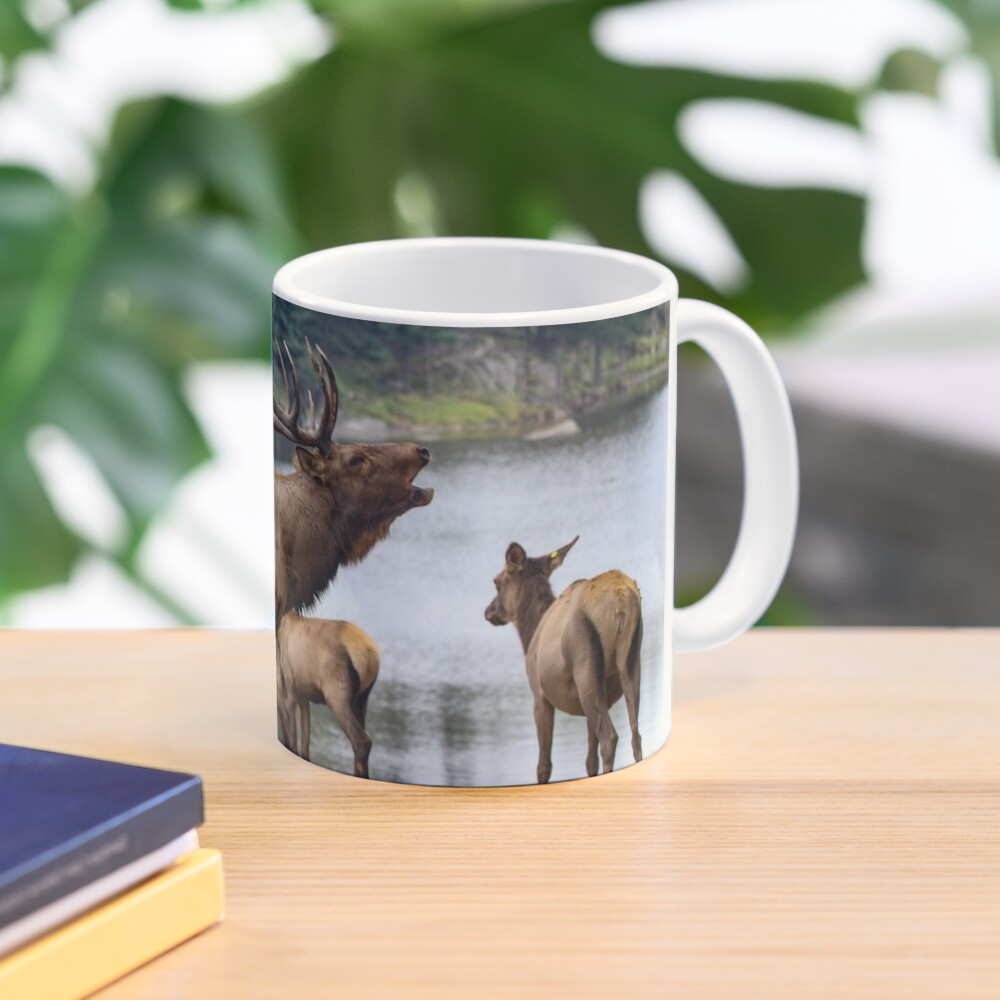 Elk Family Mug