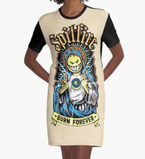 Spitfire für immer brennen T-Shirt Kleid