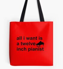 The 12 Inch Pianist Tote Bag