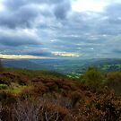 Stormy Sky Over Hope Valley, Derbyshire Peak District by mcworldent