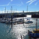 Scarborough Harbour, Yorkshire - Late Summer Sun by mcworldent