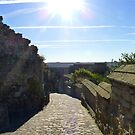 Scarborough Castle - The Road by mcworldent