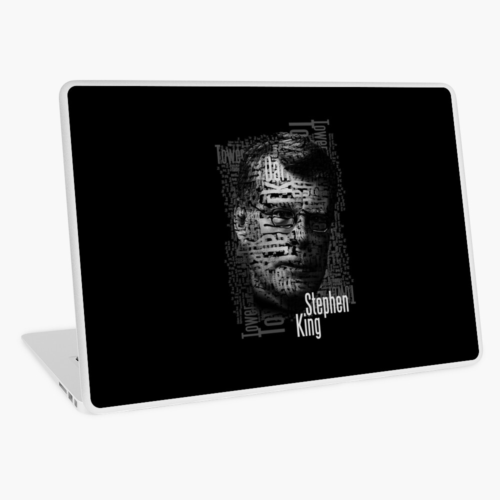 Stephen König Bücher Laptop Folie