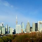 Toronto Skyline - The Other Side by mcworldent