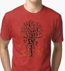 Tree in Autumn Tshirt Tri-blend T-Shirt
