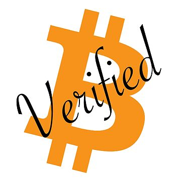 Bitcoin Verifed BTC crypto   by ThatMerchStore