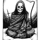 Tranquil Grim Reaper by Hanna-Riikka Art
