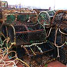 Lobster-pots In Scarborough Harbour  by mcworldent