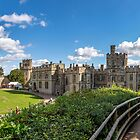 Inside The Castle Walls by StephenRphoto