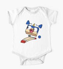 Body de manga corta para bebé Unikitty puppycorn run