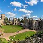 Medieval English Castle by StephenRphoto