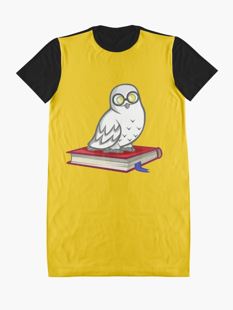 Alternate view of Owl Graphic T-Shirt Dress