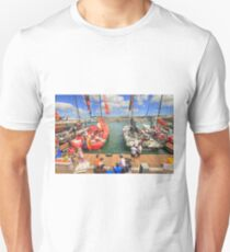 Volvo Ocean Race at the docks T-Shirt