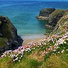 Secluded Cornish Beach by mcworldent
