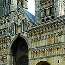 Gothic Arches In Church Architecture, Lincoln Cathedral by mcworldent