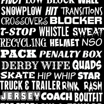 Roller Derby Terminology by Slinky-Reebs