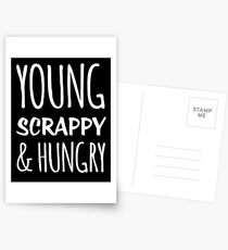 Young Scrappy And Hungry Postcards