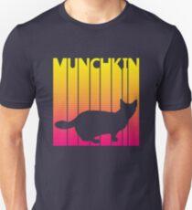 Funny Retro 1980s Munchkin Cat Unisex T-Shirt
