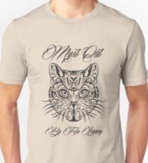 Camiseta unisex Gato myst