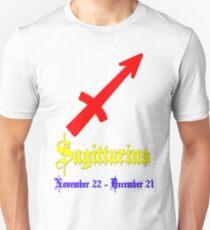 Sagittarius, November 22 - December 21 Slim Fit T-Shirt