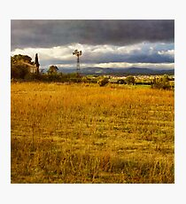 Dreamy french farm house Photographic Print