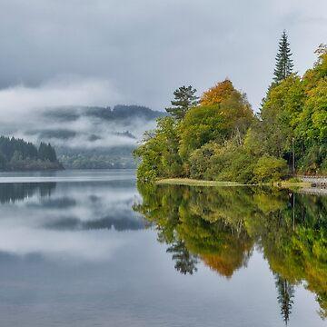 Loch Ard in Scotland by 242Digital