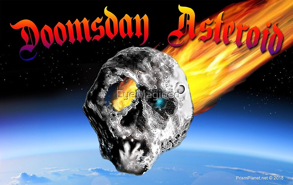 Doomsday Asteroid by EyeMagined