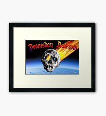 Doomsday Asteroid Framed Print