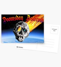 Doomsday Asteroid Postcards