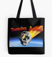Doomsday Asteroid Tote Bag