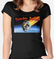 Doomsday Asteroid Women's Fitted Scoop T-Shirt