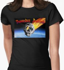 Doomsday Asteroid Women's Fitted T-Shirt