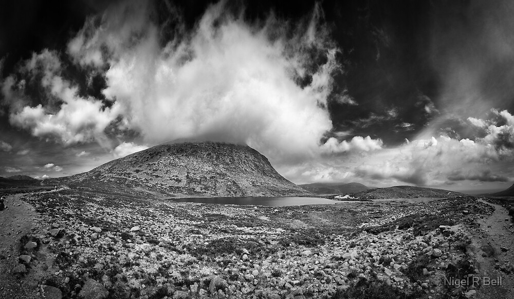 Slieve Lamagan by Nigel R Bell