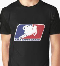 AMA Motocross Merchandise Graphic T-Shirt