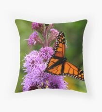 Migrating Monarch Throw Pillow