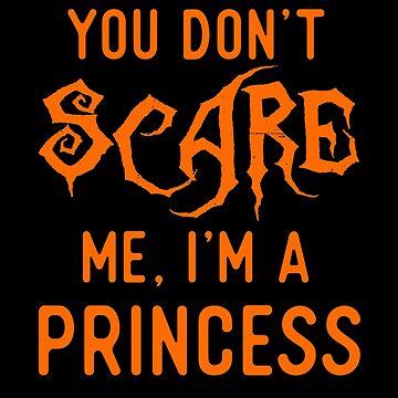 Funny Princess Shirts Halloween Girls Costume Joke Gag Gift. by Bronby