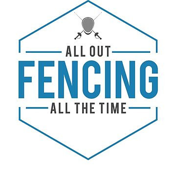 All Out Fencing Retro Sword and Mask Gift by DanH27