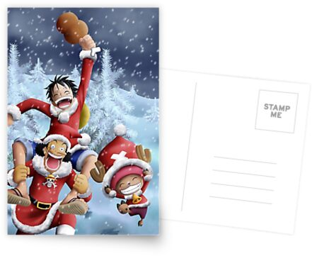 One Piece Merry Christmas wanpis by DICETERIND