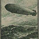 Zeppelin Hindenburg postage to North America by edsimoneit