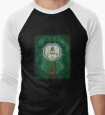 Zelda Mastersword Pixels Men's Baseball ¾ T-Shirt