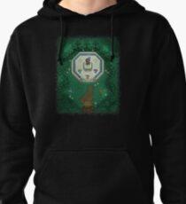Zelda Mastersword Pixels Pullover Hoodie