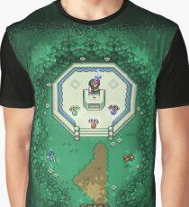 Zelda Mastersword Pixels Graphic T-Shirt