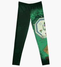 Zelda Mastersword Pixels Leggings