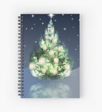 Fraktal-Weihnachtsbaum Spiralblock