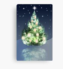 Fraktal-Weihnachtsbaum Leinwanddruck